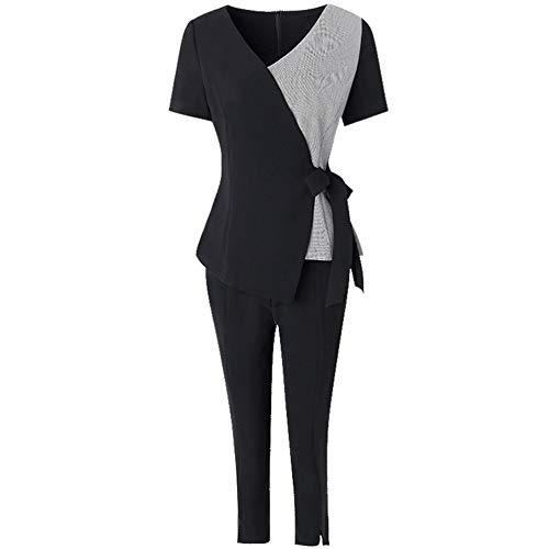 KAIDILA-LB Anzug Damen elegantanzüge,Zweiteiler damendamen Anzug elegant mit Hose