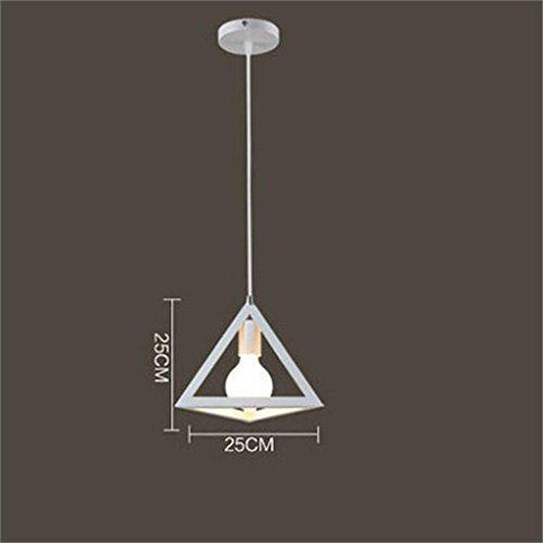 Retro industriellen Wind Restaurant Lichter Eisen Kleidung Geländer verziert einzigen Kopf Kronleuchter modernen einfachen Kronleuchter , B (Kleidung Verziert)