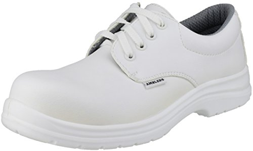 Amblers Safety Mens FS511 White Waterproof Safety Shoes White white