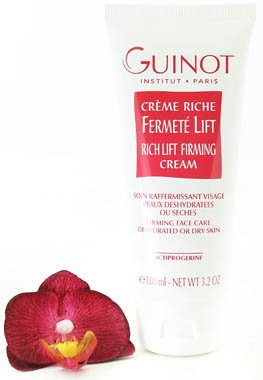 Guinot Creme Riche Fermete Lift Rich Lifting Firming Cream 100ml (Salon Size)