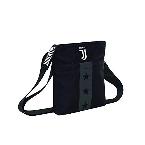 Tracolla Juventus Mini Shoulder Bag, Nero, Flash Effect, Scuola Sport & Tempo libero