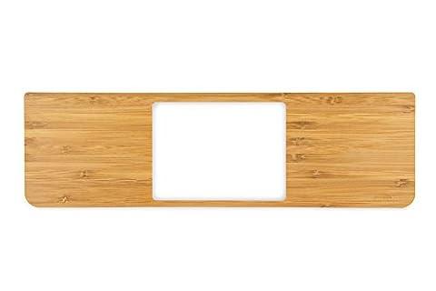 innerexile WP-A13-01 Zura hochwertiger Handballenauflagen Bambus Shutzhülle für Apple MacBook Air 33 cm (13 Zoll) braun