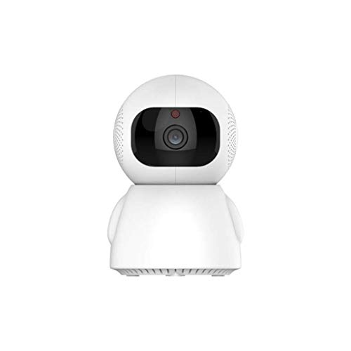 MENRAN 720P Überwachungskamera, Full HD wasserdicht Staubdicht Statisch WLAN Kamera Nachtsicht Home und Baby Monitor mit Bewegungserkennung, 350°Schwenkbar und Mobile App Kontrolle mit Nachtsicht