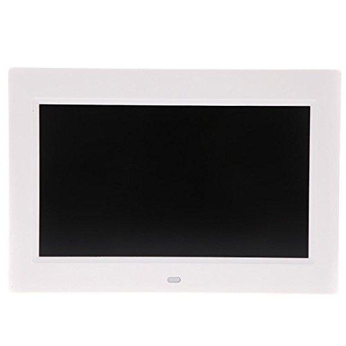 TOOGOO(R) 10.1 pouces HD TFT-LCD cadre photo numerique ALARME horloge MP3, MP4 lecteur video de bureau a distance