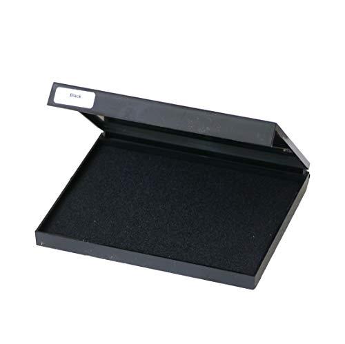 Grande tampone dall'inchiostro nero, 110 x 140 mm