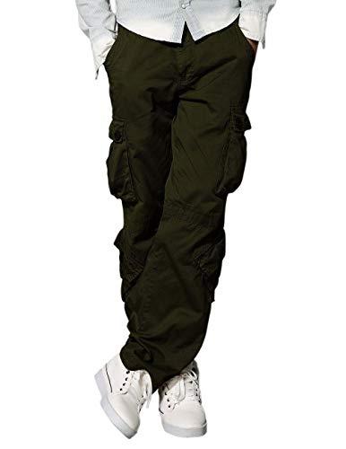 Match 3357 - Pantalones Cargo HombreVerde 3357 Army