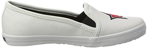 Tommy Hilfiger S3285ammie 22d, Sneakers Basses Fille Blanc (White 100)