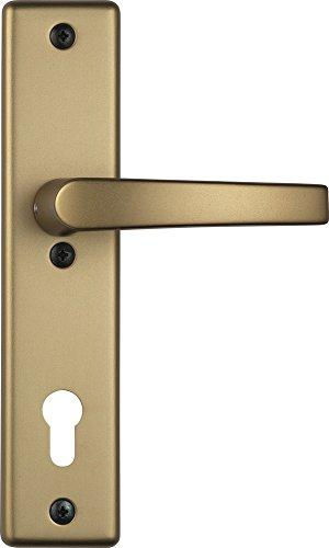 ABUS Tür-Schutzbeschlag HLS214 F4 mit beidseitigem Drücker, 08301 - 2