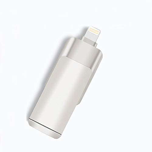CHUXIANGJIAN Handy-USB ist für IOS-Android-Computer geeignet DREI-in-Einem Metall U-Scheibe, Flash-Laufwerk USB 3.0 Memory Stick Jump Drive Pen Drive (größe : 16G) (16 Jump Drive G)
