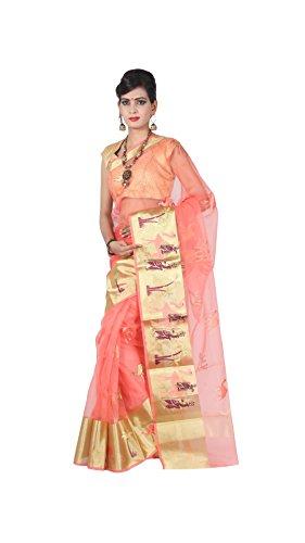 Loolu Silk International Silk Saree With Blouse Piece (Ls-Rap025_Multicolor_Free Size)