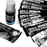 """UES Kamera APS-C Sensor Reinigungs Kit für 6 bis 12 Reinigungen, 14 x Swab 16mm \""""staubfrei, vakuumverpackt\"""" 15ml Flüssigreiniger"""