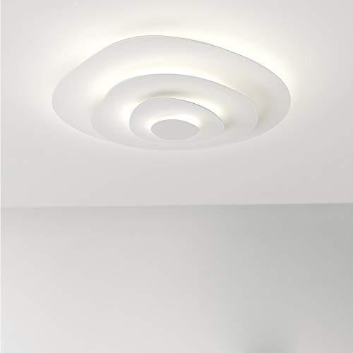 Vingo 50w Plafonnier De Salon Led Luminaire Interieur Blanc Chaud
