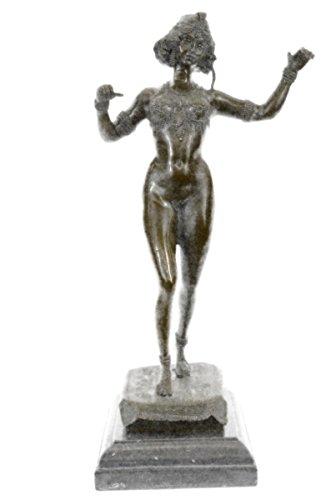 statua-di-bronzo-sculturaspedizione-gratuitafirmato-tedesco-preiss-carefree-donna-sensualeds-501-jps