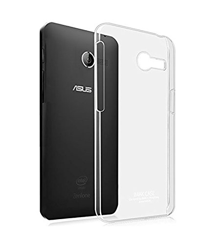 OFM Transparent Soft Back Case Cover for Asus Zenfone 4 - Transparent  available at amazon for Rs.129