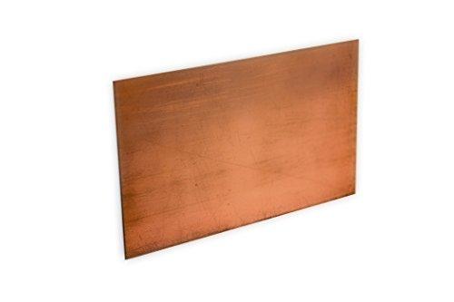 Kupfer-Anode/Elektrode/Blech (8 x 5 cm) für Kupferelektrolyt/Galvanik