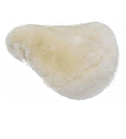 Cover/Seat Real Sheepskin Elasticated White XXL 01050508