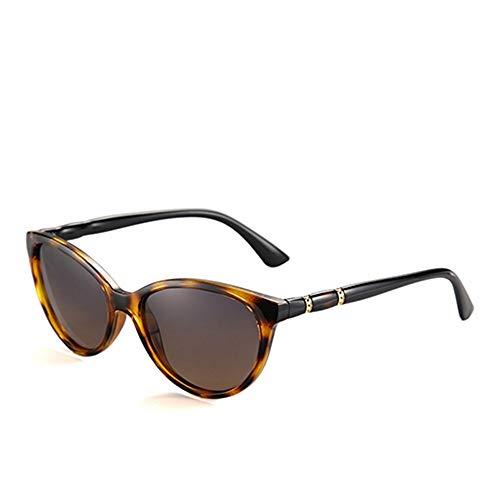 QDE Sonnenbrillen Vintage Polarized Sunglasses Women Gradient Lens Sun Glasses Shades Female Eyeglasses,Demi