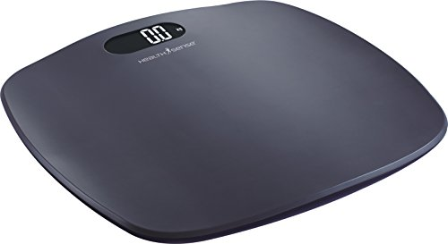 HealthSense PS 126 Ultra-Lite Personal Scale (Grey)