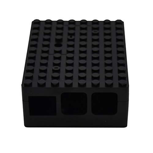 Swiftswan Schwarze RPi ABS-Gehäuse Schutzgehäuse Gehäuse für Raspberry Pi 3 Pi 2 Modell B B + BBC