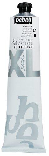 PEBEO - Tubetto di Colore ad Olio XL, 200 ml, Colore: Bianco Vivo