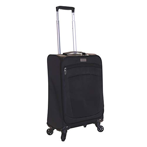 Karabar Marbella 55 cm valigia super leggero, Nero