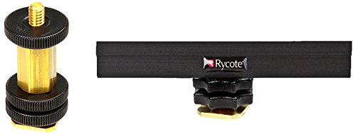 Rycote 0473053/20,3cm Boom Adapter drehbar mit 10cm Hot Shoe Verlängerung Rycote Hot Shoe