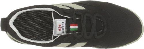 Superga 2885 Roma Matchrace New, basses homme Noir - Schwarz (C39 Black-White)