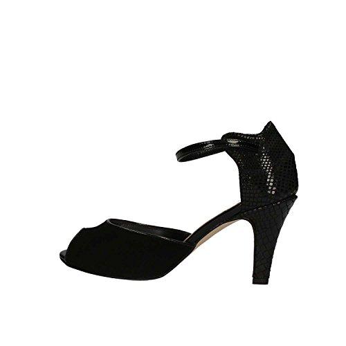 KEYS 5155 Sandalo tacco Donna Nero