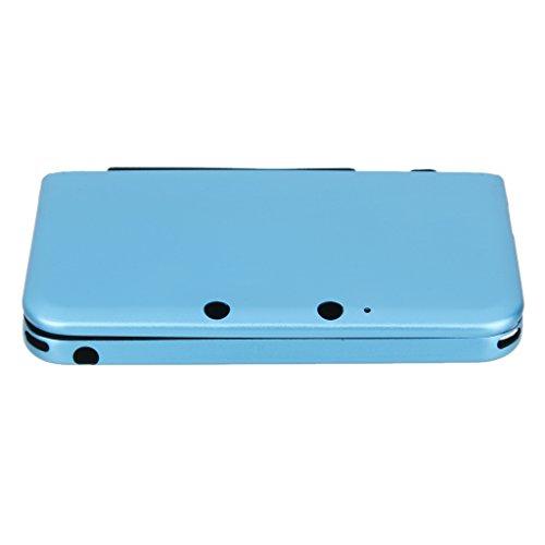 De Aluminio Cubierta De La Caja De La Piel Dura Protectora Para Nintendo 3DS LL XL Azul -sky