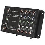 Quiktron 2230-41065-000 4-output Component Video + Stereo Audio Distribution Amplifier