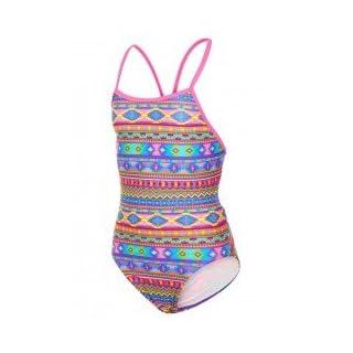 Maru Girls Aztek Wonder Pacer Fly Back Swimsuit UK28