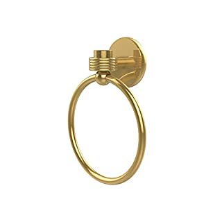Allied Brass 7116G-PB Satellite Orbit One Collection Towel Ring, Polished Brass by Allied Precision Industries