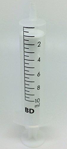 10ml Esterilizado Desechable Plástico Hipodérmica JERINGA (paquete de 10)