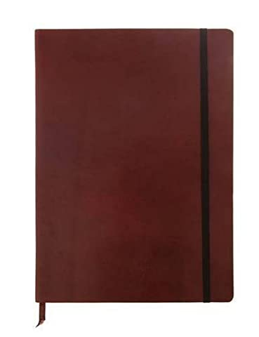 Monsieur Notebook - Real Leather A4 Brown Ruled: Format DinA4 - liniert - Schreibpapier 90 gr - Einbandfarbe: braun by Monsieur (2011) Paperback