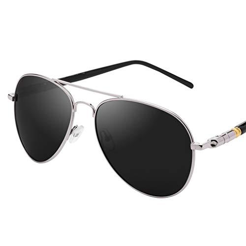 Tianlong TAIYANGJING Neue polarisierte Sonnenbrille Männer Brille Trendy Driver Driver Sonnenbrillen (Farbe : C)