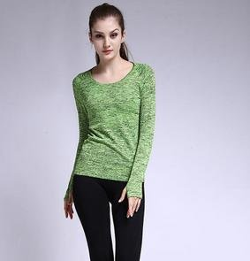 Vêtements dames Sport Top Yoga Green