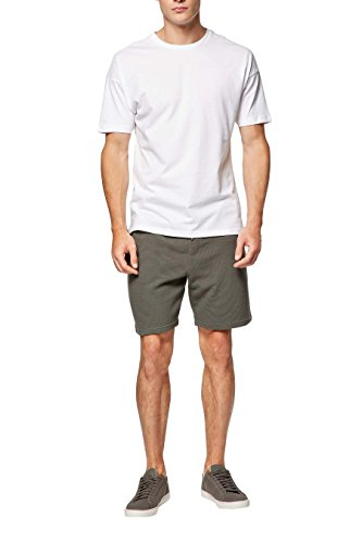 next Uomo Shorts Testurizzati In Jersey Kaki