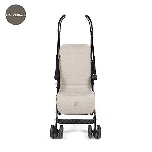 Walking Mum Circ - Colchoneta para silla, unisex, color piedra