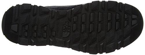 The North Face Edgewood 7-Inch, Chaussures de Randonnée Basses Homme, TNF Noir/Gris Foncé Multicolore (Tnf Black/dark Shadow Grey)
