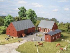 Auhagen 11439 - Bauernhof, H0 - Spielzeug-bauernhof-gebäude