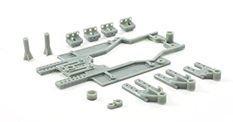 Scaleauto SC-6629b Chassis RT-3 LWB (81-86mm) Rev.3 Reinforced guide holder SOFT (Rt Chassis)