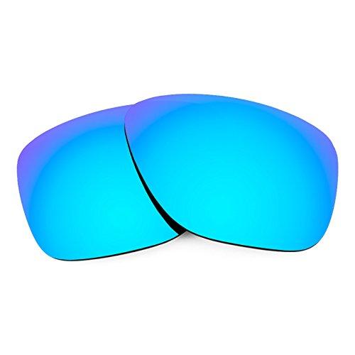 Verres de rechange pour Oakley Breadbox — Plusieurs options Bleu Glacier MirrorShield® - Polarisés