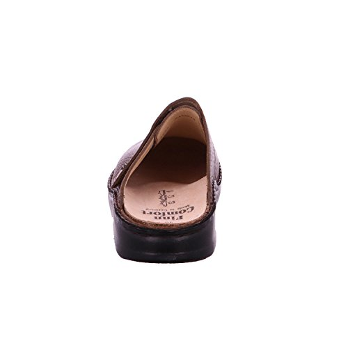 Finn Comfort Mens Amalfi Leather Sandals Marrone (Malt)