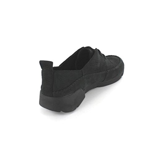 Clarks Tri Angel, Sneakers basses femme Black Combi