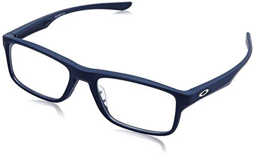 Ray-Ban Unisex-Erwachsene 0OX8081 Brillengestelle, Grün (Softcoat Universal Blue), 53