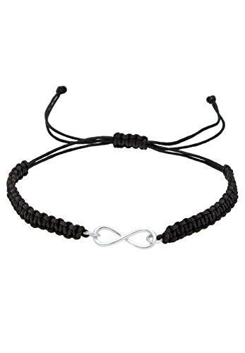 Elli-Damen-Strangarmband-Textil-Infinity-Unendlichkeit-925-Sterling-Silber-0206112713-18
