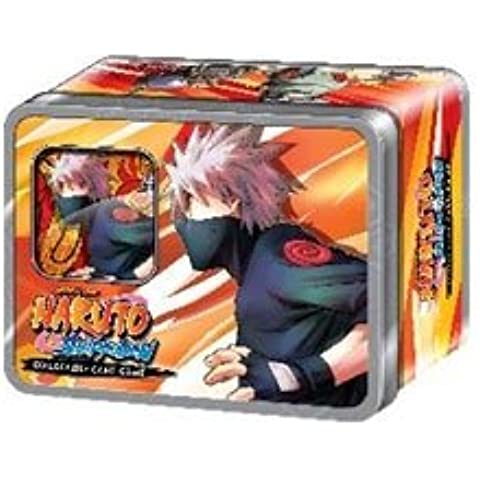 2011latta da collezione: Naruto Shippuden Otto Ninja del gioco di carte Rinascita Kakashi cani Collector Tin Set Include 2Promo Card e 4Confezioni.