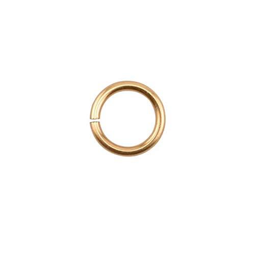 Lot de 150 anneaux en fil de cuivre pour filetage artistique 20 ga 11/64\