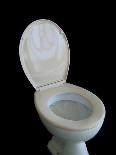 ADOB 12275 WC Sitz Klobrille Duroplast