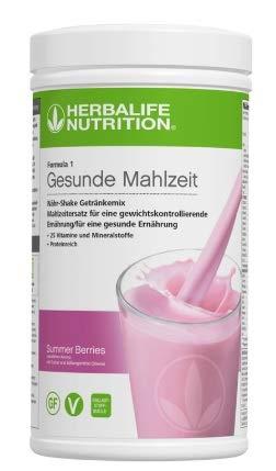 HERBALIFE Formula 1 shake 550 gr. Douceur de Fruits Rouges (Summer Berries) - nouveau et frais)